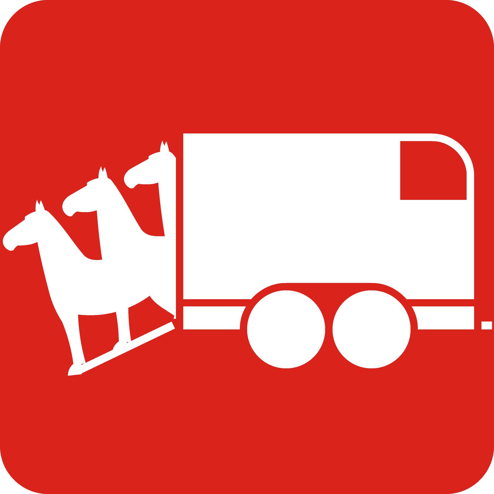 3/4 paards trailer