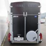 Ifor Williams HB506 2 paards paardentrailer met zadelkamer Aanhangwagens XXL West Brabant achter dicht Aanhangwagens XXL West Brabant