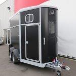 Ifor Williams HB506 2 paards paardentrailer met zadelkamer Aanhangwagens XXL West Brabant voorkant