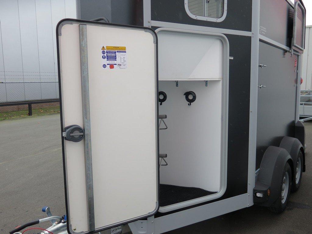 Ifor Williams HB506 2 paards paardentrailer met zadelkamer Aanhangwagens XXL West Brabant zadelkamer 1 Aanhangwagens XXL West Brabant