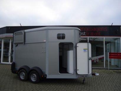 Ifor Williams HB511 2 paards paardentrailer met zadelkamer Aanhangwagens XXL West Brabant hoofd