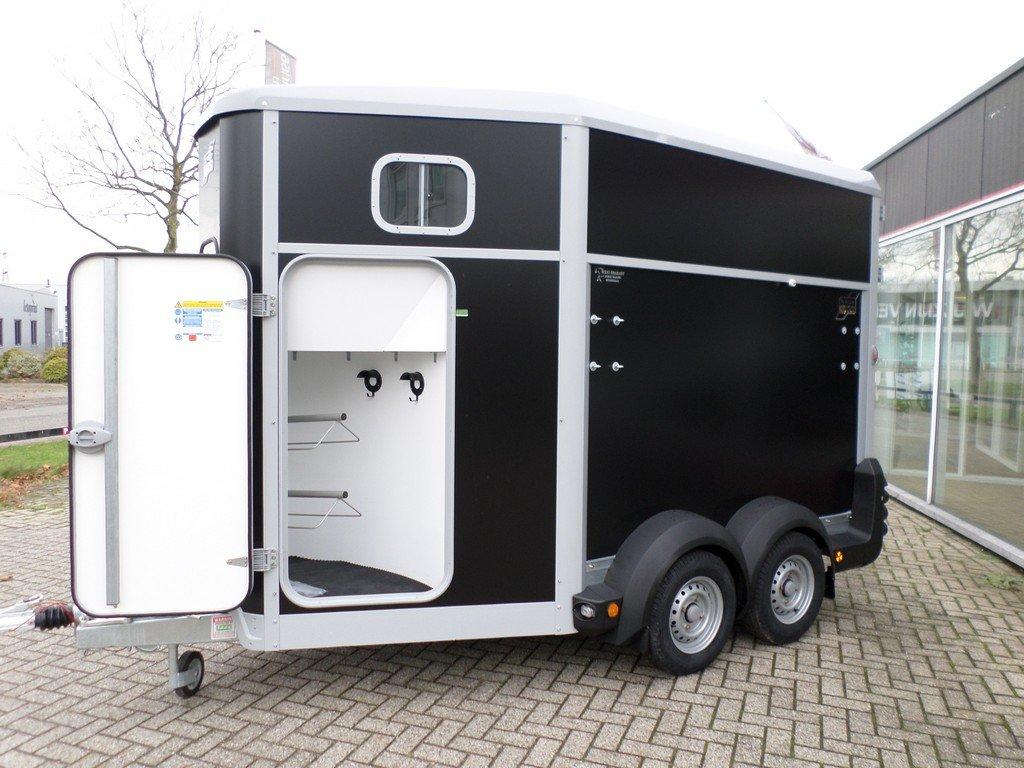 Ifor Williams HB511 2 paards paardentrailer met zadelkamer Aanhangwagens XXL West Brabant zadelkamer 1 Aanhangwagens XXL West Brabant