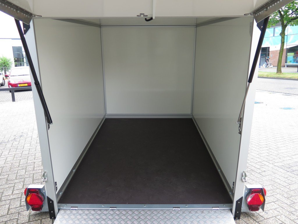 Proline gesloten aanhanger 280x176x180cm 1500kg zakbaar Aanhangwagens XXL West Brabant 2.0 binnenkant klep Aanhangwagens XXL West Brabant