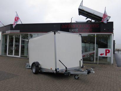 Proline gesloten aanhanger 280x176x180cm 1500kg zakbaar Aanhangwagens XXL West Brabant 2.0 hoofd