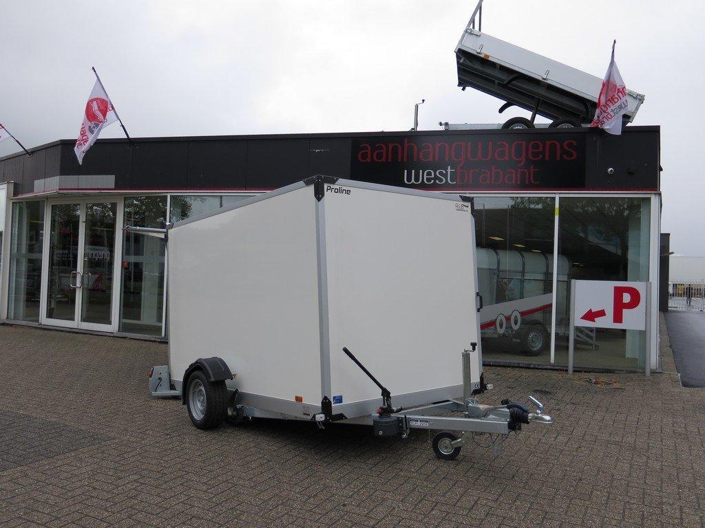 Proline gesloten aanhanger 280x176x180cm 1500kg zakbaar Aanhangwagens XXL West Brabant 2.0 hoofd Aanhangwagens XXL West Brabant