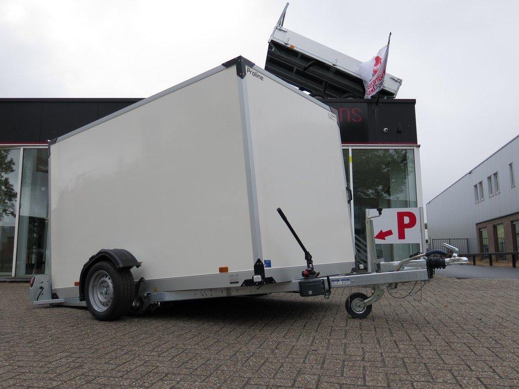 Proline gesloten aanhanger 280x176x180cm 1500kg zakbaar Aanhangwagens XXL West Brabant 2.0 overzicht Aanhangwagens XXL West Brabant