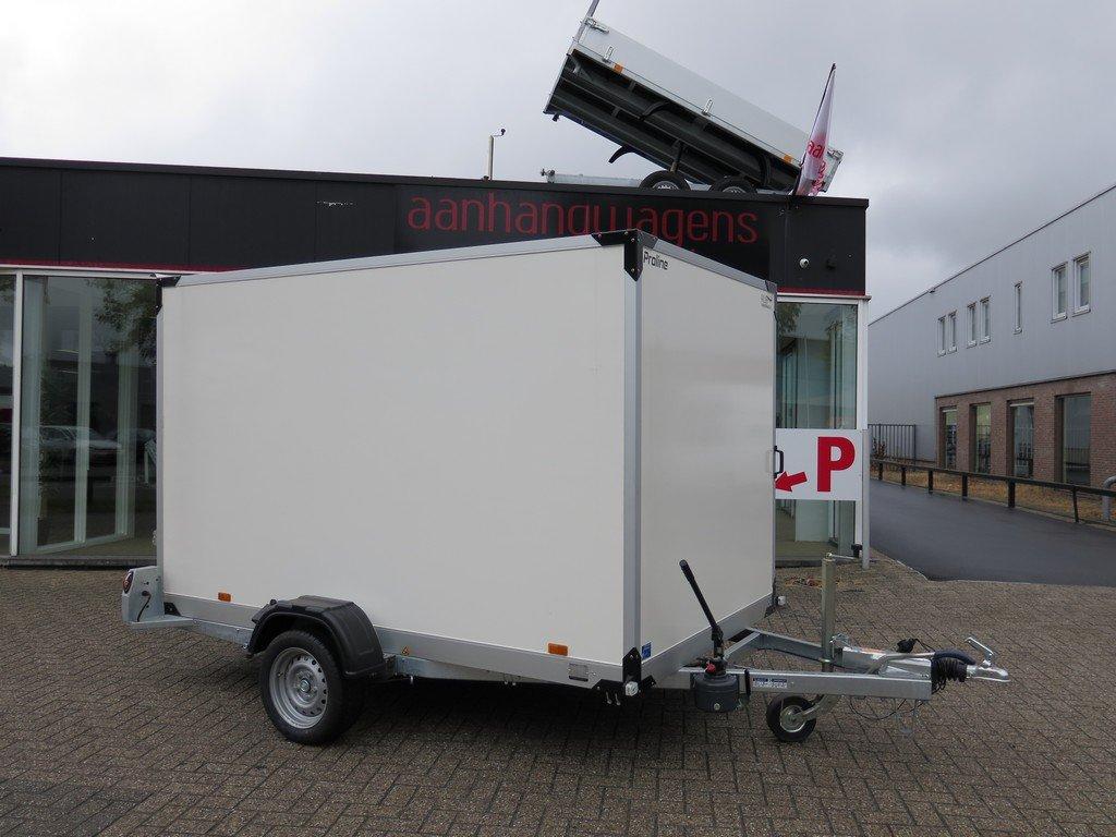 Proline motortrailer 280x176x180cm 1500kg gesloten Aanhangwagens XXL West Brabant 2.0 vlak Aanhangwagens XXL West Brabant