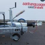 Ifor Williams GX126 machinetransporter 366x184cm 3500kg tridemas