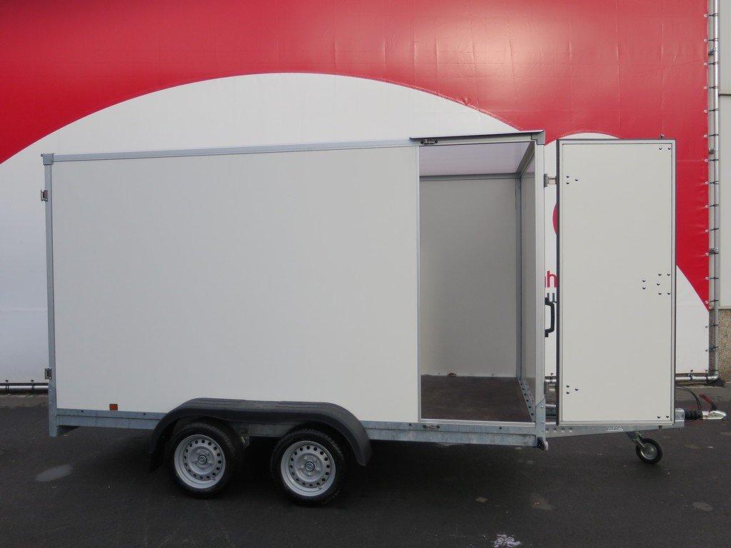 Easyline gesloten aanhangwagen 357x185x188cm 2600kg