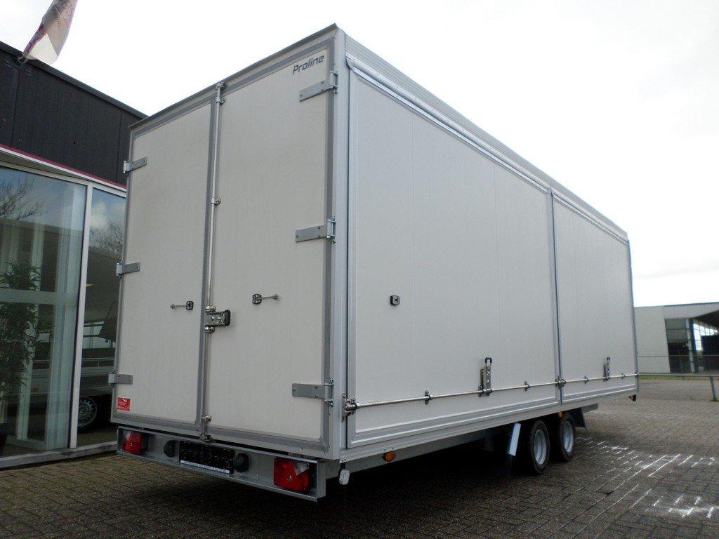 Proline gesloten aanhangwagen 546x204x190cm 3000kg